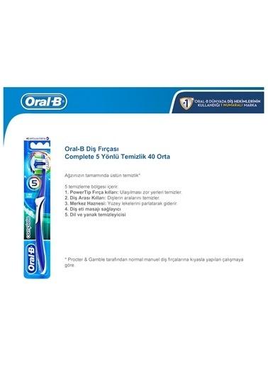 Oral-B Oral B Complete 5 Way Clean Diş Fırçası Renkli